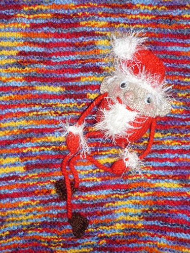 Pattern: Dangly leg santa, free